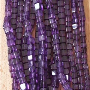 AFRICAN AMETHYST NECKLACE FOR SALE